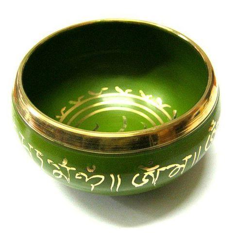 Чаша поющая Green-Gold, 11см