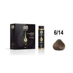 Constant Delight, Масло для окрашивания волос Olio Colorante 6.14, 50 мл