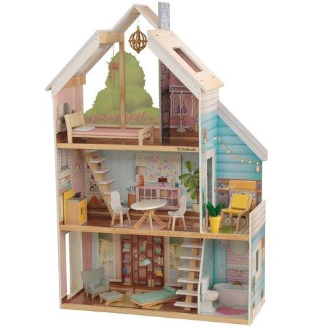 KidKraft Зоя - кукольный домик с мебелью 65960_KE