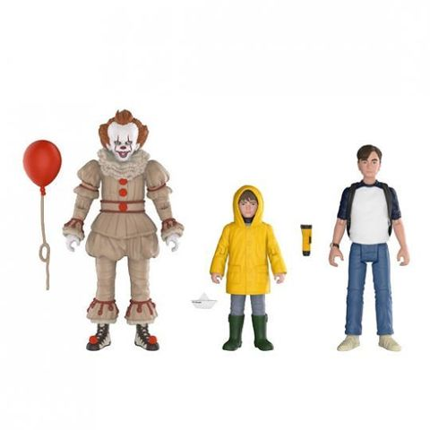 Комплект фигурок ОНО || Funko IT Action Figure 3 Pack - Pennywise, Georgie & Bill