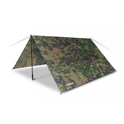 Палатка-шатер (кемпинговый)  Trimm Shelters TRACE, 2+1 (камуфляж, зеленый)