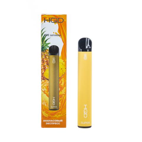 Одноразовая электронная сигарета HQD SUPER Pineapple (Ананас)