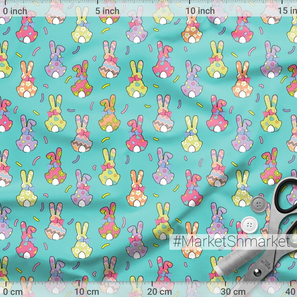 back bunny, easter