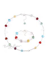 Комплект Carnavale Argento Piccolo (ожерелье, браслет)