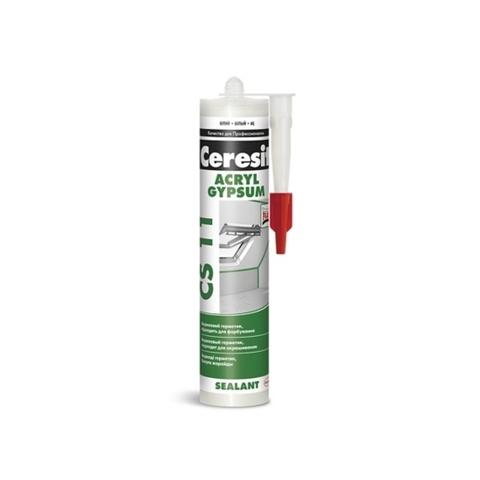 Ceresit  CS 11 ACRYL GYPSUM/Церезит ЦС 11 АКРИЛ ГИПСАМ акриловый герметик