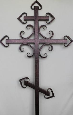Крест металлический К-10