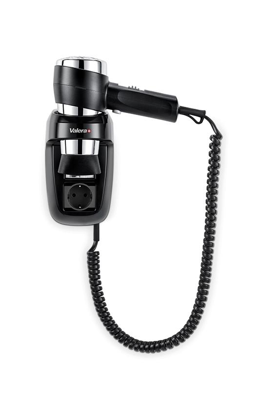 Фен настенный Valera Action Protect 1600 Socket Black