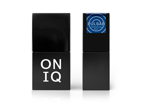 OGP-156 Гель-лак для покрытия ногтей. Pulsar: Glimmering Blue