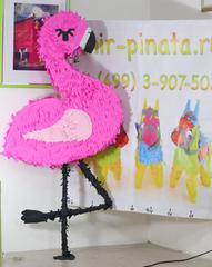 Пиньята розовый Фламинго  - мир-пиньята