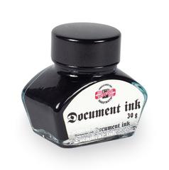 Чернила для перьевых ручек 6060, черные, флакон 30г