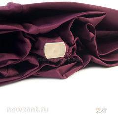 Плоский мини зонт АртРейн тёмная вишня