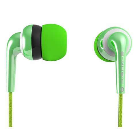 Наушники S-Music Start CX-210 green