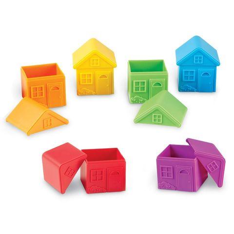 LER3370 Игровой набор Домики для сортировки Learning Resources