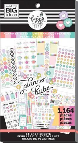 Блокнот со стикерами для ежедневника Create 365 Happy Planner Sticker Value Pack-BIG - Planner BAbe - 1164 шт