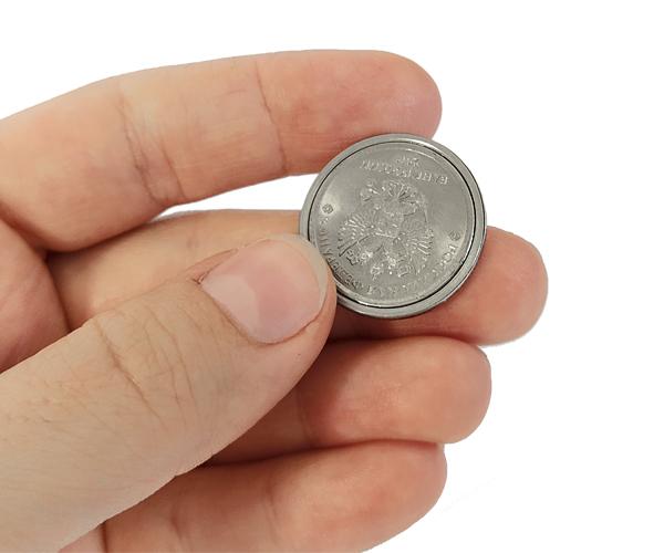 shell монета 1 в 2 руб