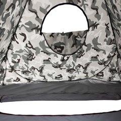 Зимняя палатка автомат Premier Fishing 1,8х1,8 м, камуфляж, дно на молнии (PR-D-TNC-036-1.8)