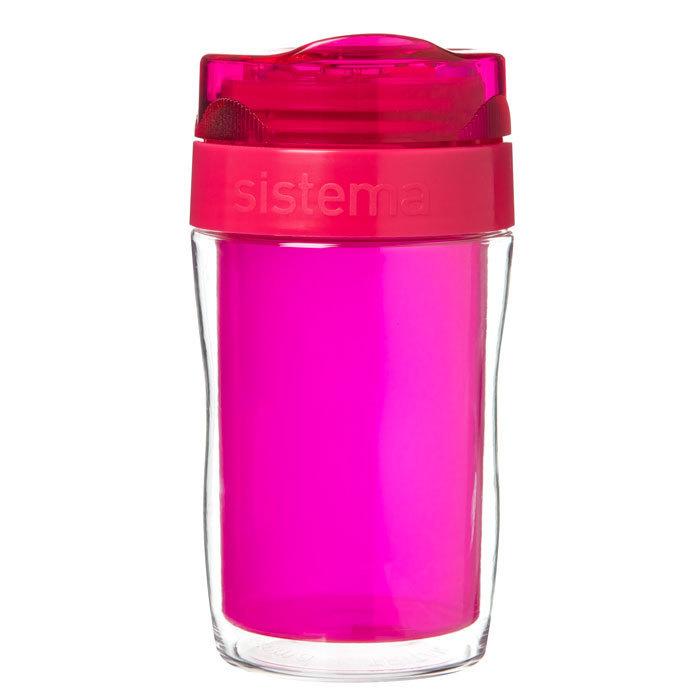 Термокружка Sistema 315 мл, цвет Розовый