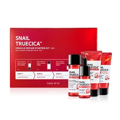 Набор миниатюр  SOME BY MI Snail Truecica Miracle Repair Starter Kit Edition