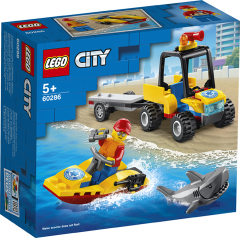 Lego konstruktor City Beach Rescue ATV