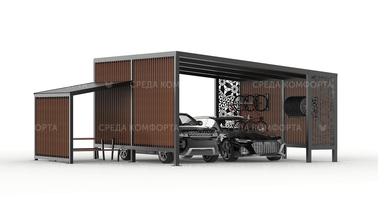 Навес для автомобиля AVNVS0069
