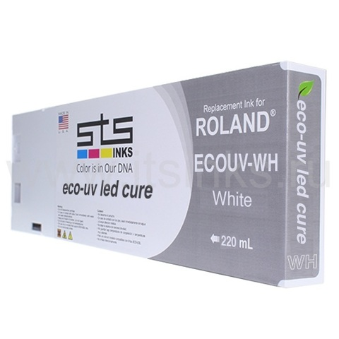 Картридж для Roland Eco - UV White 220 мл
