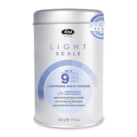 Порошок для обесцвечивания на 9 тонов Light Scale White Lightening Powder 500г