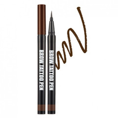 Ручка-тату для бровей Brow Tattoo Pen - Deep Brown 0,5 гр