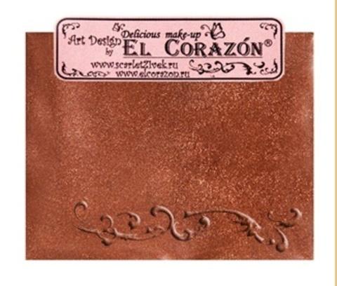 Эль Коразон Перламутр  p-10 блестящий медный