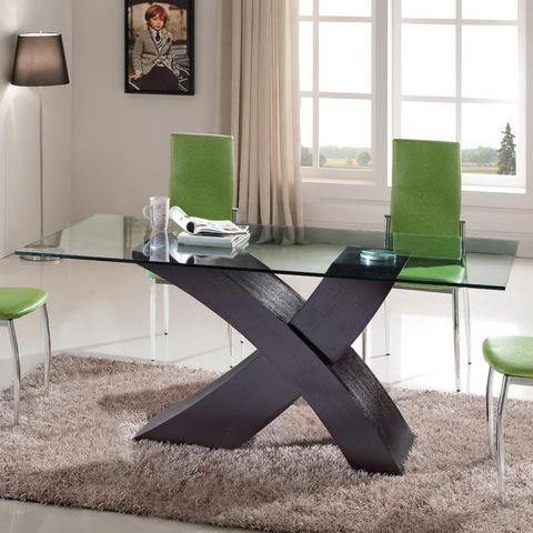 Стол ESF LT034 венге, стулья ESF L23