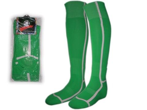 Гетры футбольные. Цвет: зелёный. Размер: 40-44: K-F