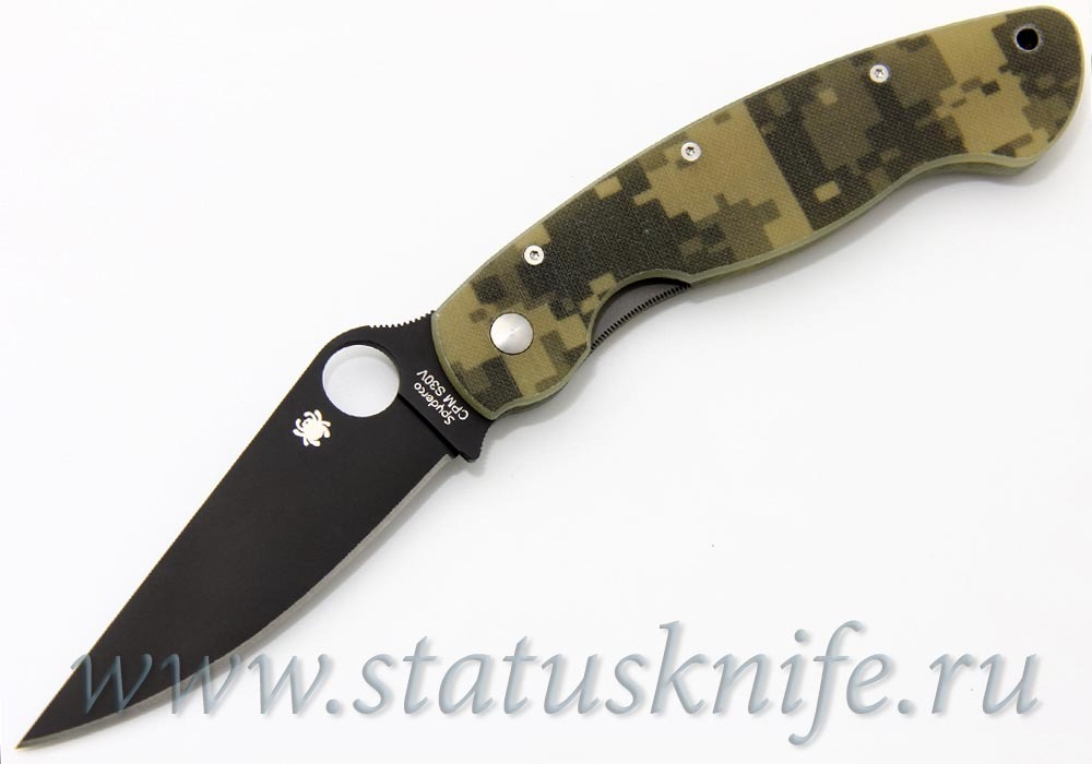 Нож Spyderco C36GPCMOBK Military Camo