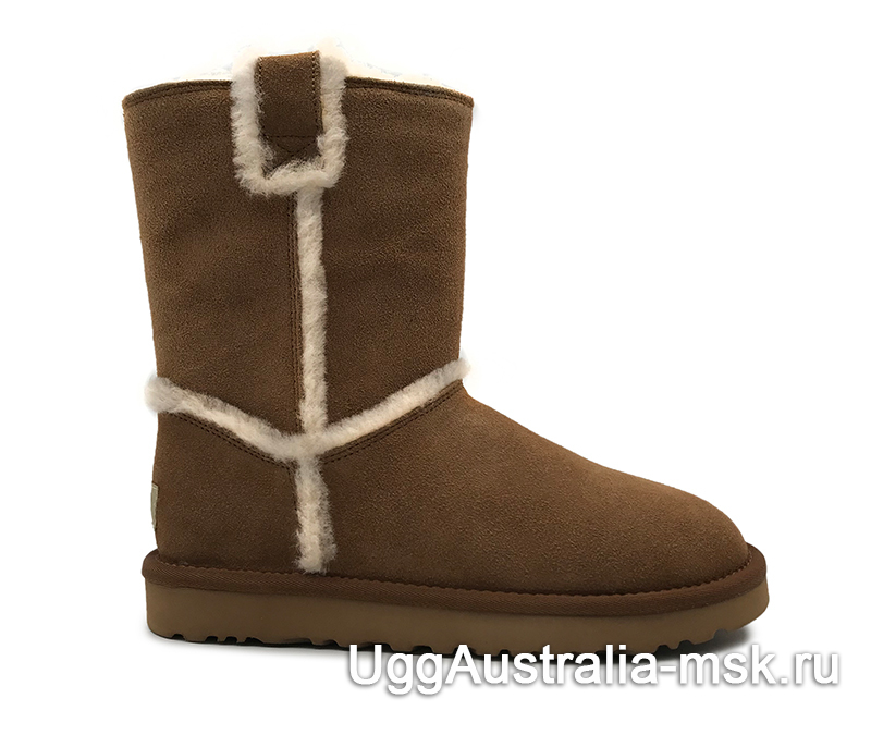 UGG Classic Short Top Wool Brown