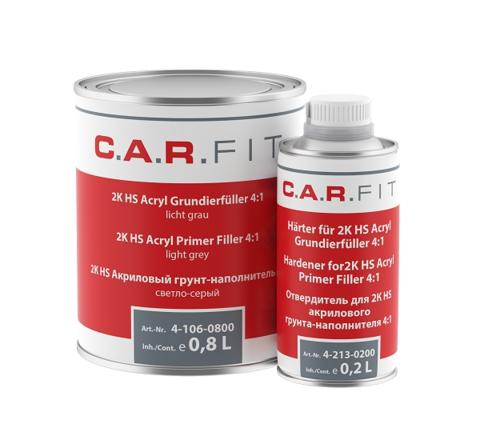 CF Грунт-наполнитель HS 4:1 тёмно-серый комплект 0,8+0,2л