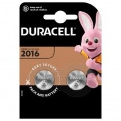 Элемент питания Duracell CR2016-2BL