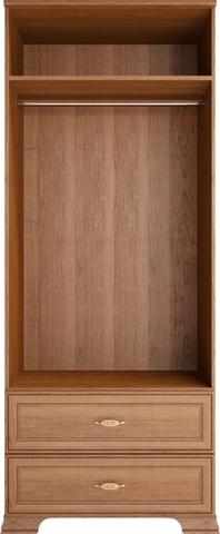 Шкаф для одежды двухдверный Венеция 17 с ящиком Ижмебель клен торонто