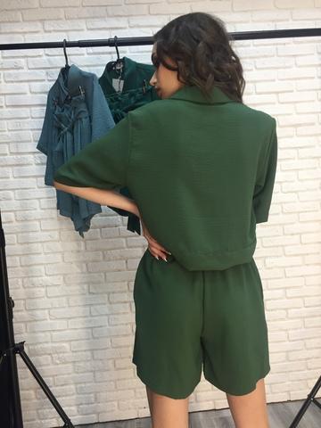 Костюм летний с шортами хаки интернет магазин
