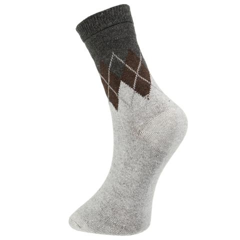 Мужские носки серые ROMEO ROSSI с шерстью 8045-3