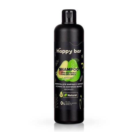 HB Шампунь для жирных у корней и сухих на кончиках волос