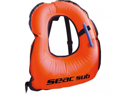 Надувной спасательный жилет seac vest
