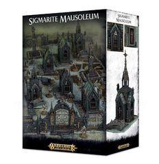 Sigmarite Mausoleum. Коробка
