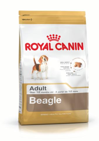Для собак породы бигль от 12 месяцев