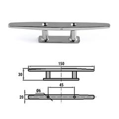 Утка швартовая 150 мм