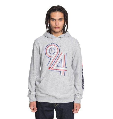 Худи DC Shoes CYCLES LINES PH M OTLR KNFH GREY HEATHER