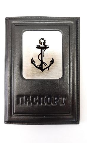 Обложка на паспорт | Моряку | Чёрный
