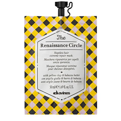 Davines The Circle Chronicles: Маска «экстрим-восстановление» для безнадежных волос (The Renaissance Circle), 50мл/750мл
