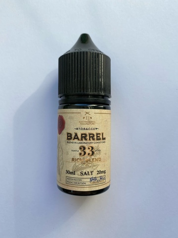 Rich Blend by Tobacco Barrel Salt 30мл