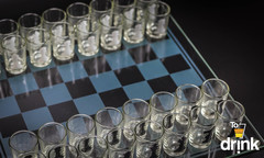 Шахматы со стопками, шашки, карты, фото 4