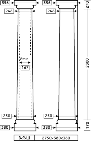 Колонна 1.30.106