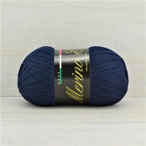 Пряжа Merino Extra (Мерино экстра) Темно-синий