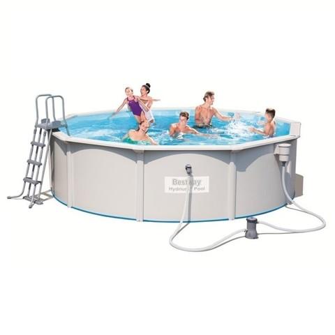 Сборный бассейн Bestway Hydrium 56382 (460х120 см) с картриджным фильтром / 16457